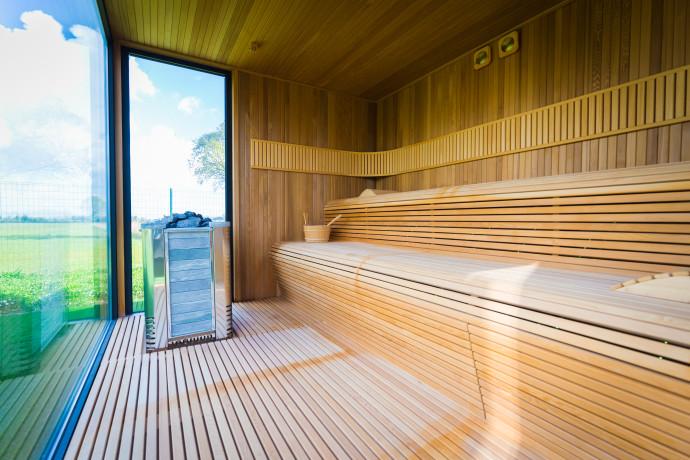 Sauna 54 Extérieur Luxury